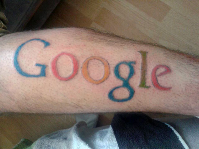 Kid tattoos a google logo on himself asks for ad money for Can you get a tattoo before surgery