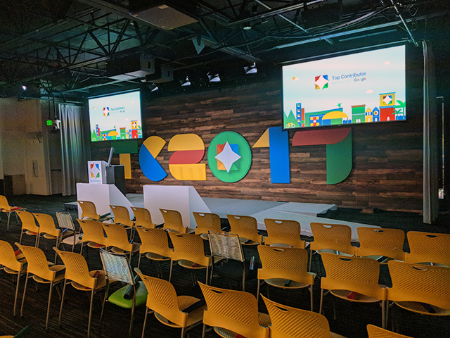 Google Top Contributor Summit Photos