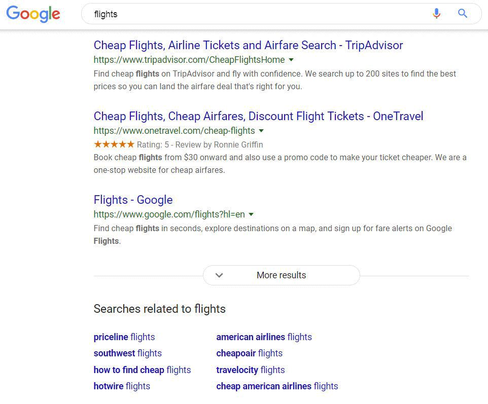 Google Testing More Results Button For Desktop Search Results Page
