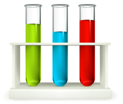 google test tubes
