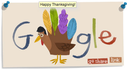 Google Thanksgiving 2011