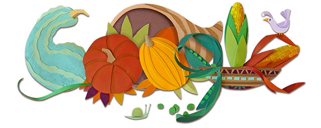 Google Thanksgiving Day 2015