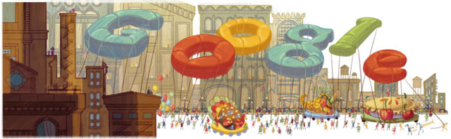 Google Thanksgiving Day 2012