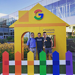 Google This Is Family Pride Booth
