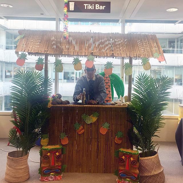 Google Tiki Bar