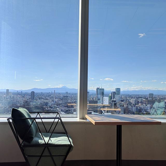 Mount Fuji From Google Tokyo