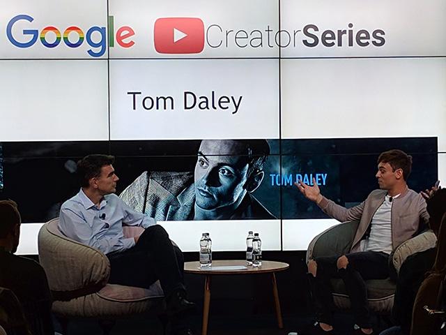 Olympian Tom Daley At Google