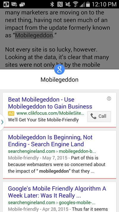 Google Touch To Search