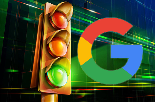 google traffic light delay