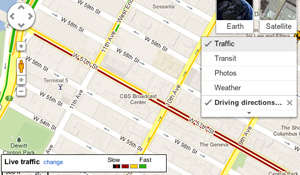 Google Maps Traffic