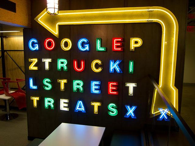 Google Truck Pit Cafe
