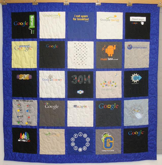 Google T-Shirts Quilt