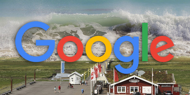 Google Search Tsunami Warnings