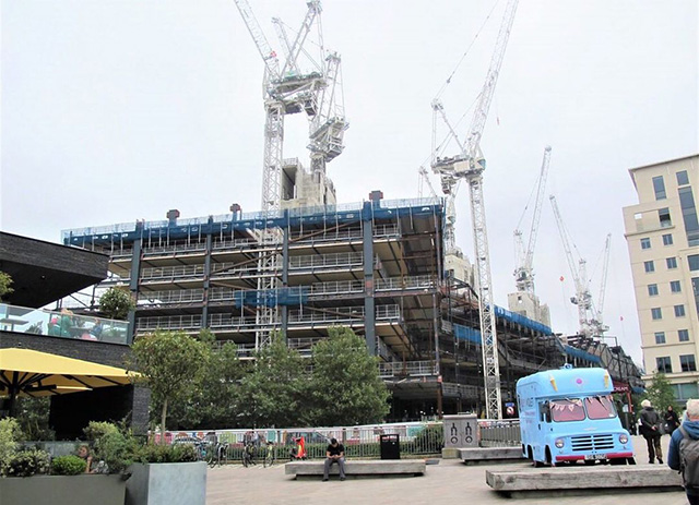 Google UK Office Construction
