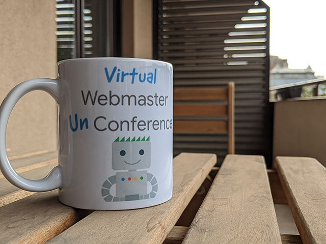 Google Virtual Unconference Mugs