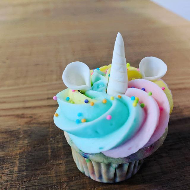 Google Serving Unicorn Cupcakes