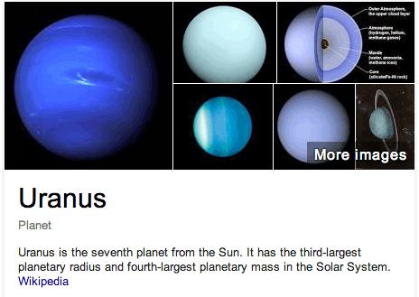 Google Uranus