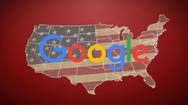 google us map