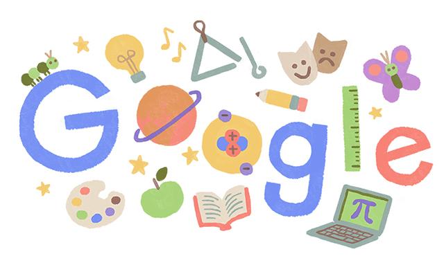 Teacher Appreciation Week Google Logo