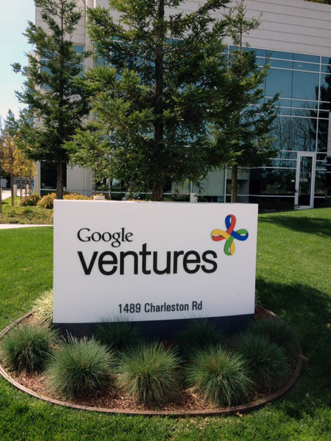 Google Ventures Sign
