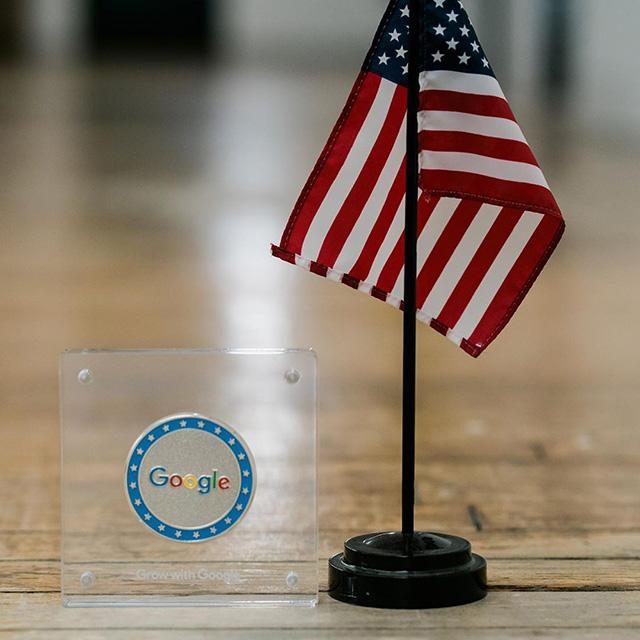 Google Veterans Challenge Coin