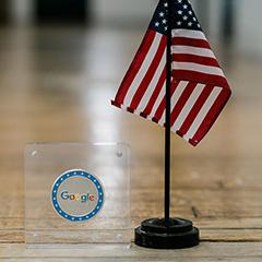 Google Challenge Coin For Veterans