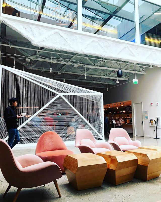 Web In Google Lobby Area