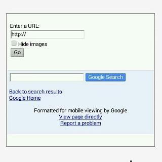 Google Web Transcoder