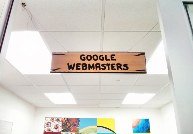 Google Webmaster Team Sign