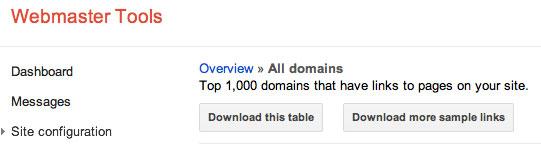 Google Webmaster Tools Download