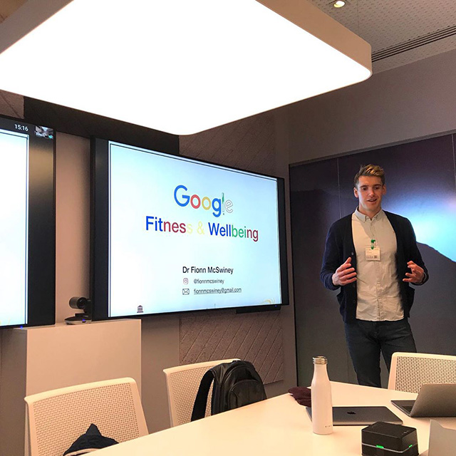 Google Wellness Day Talk