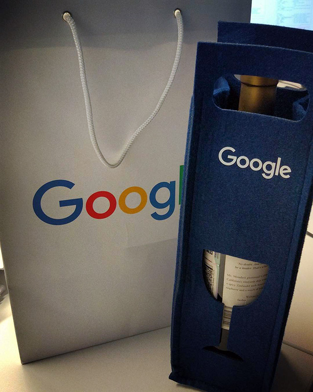 Google Wine For Holiday Gift