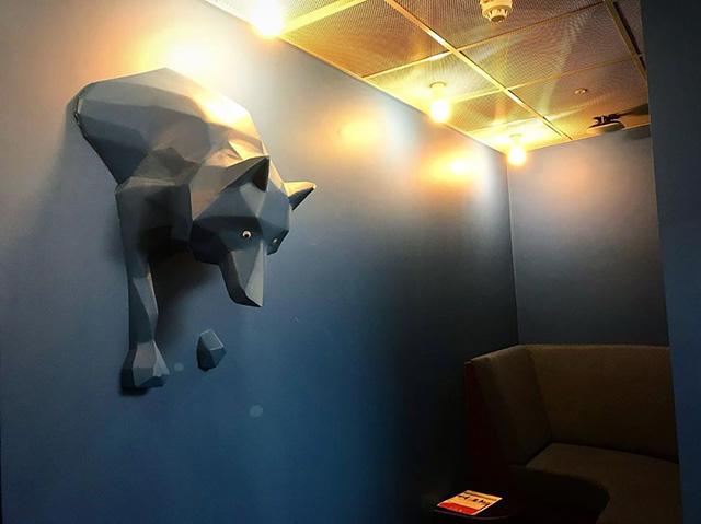 Google Wolf Wall
