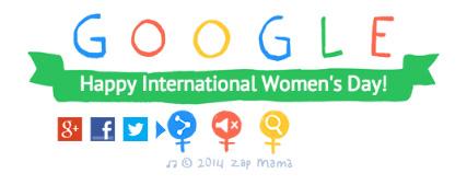 Google's Women's Day Logo