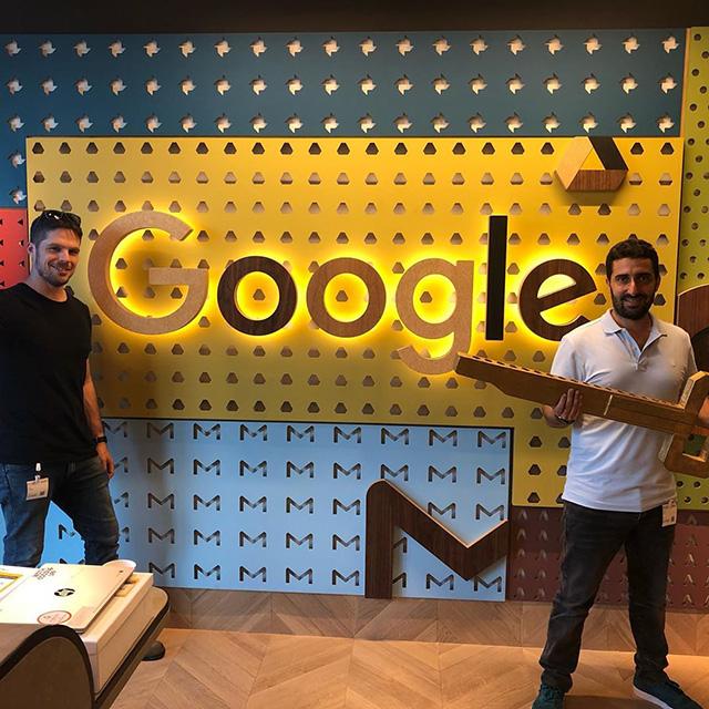 Google Wooden Key
