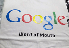 Old Google Word Of Mouth T-Shirt
