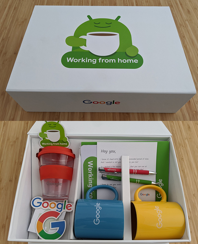 Google Working From Home Box