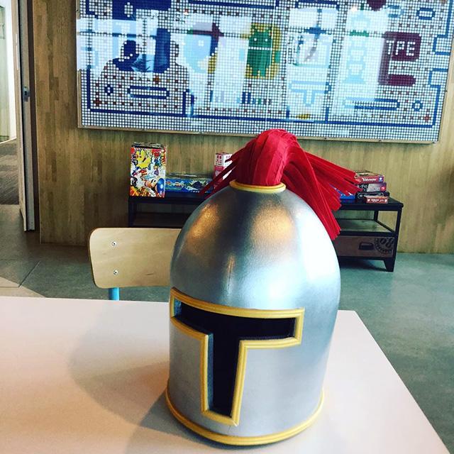 Yasuhiro Helmet At Google