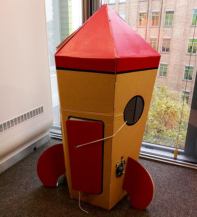 YouTube Rocket Ship