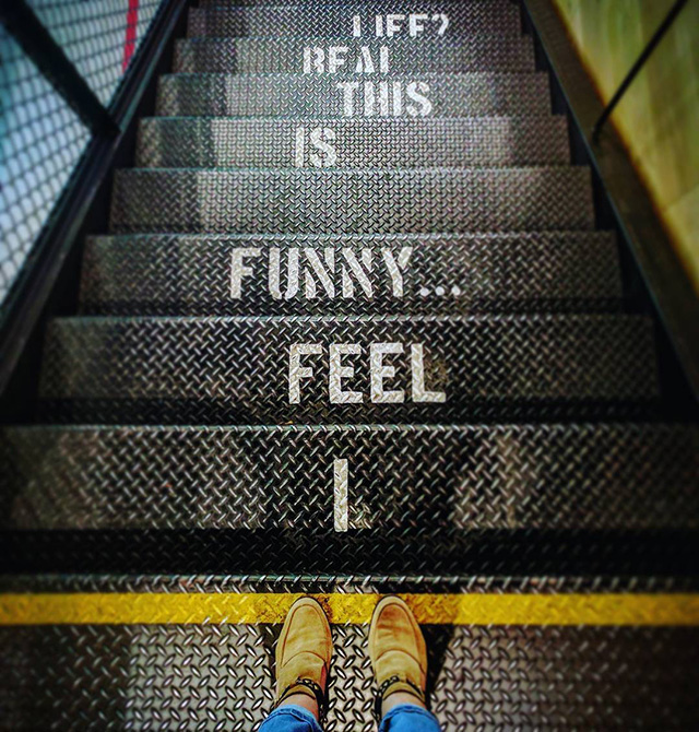 YouTube Stair Case