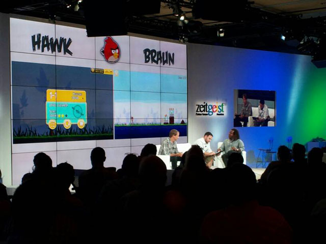 Angry Birds At Google Zeitgeist (Tony Hawk vs Scooter Braun)