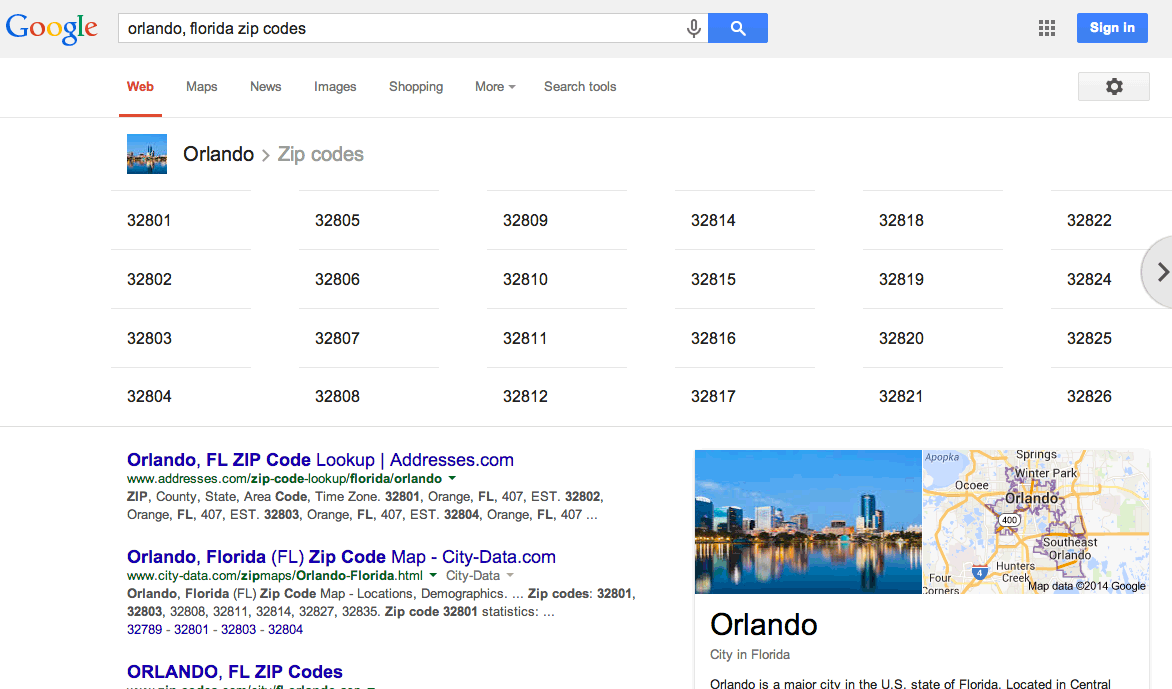 Worksheet. Google Zip Code Listings Now In Search Results