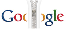Google Zipper Logo - Click To Enlarge