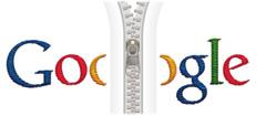 Google Zipper Logo - Click To Enlarge