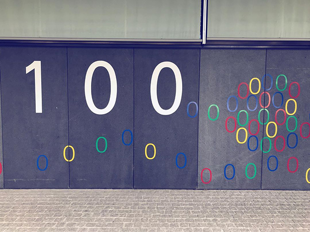 Google Zurich Number Doors