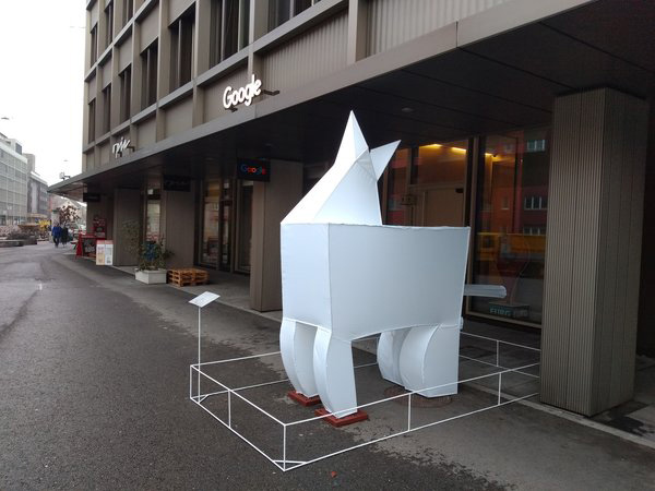 Trojan Horse At Google Zurich Office
