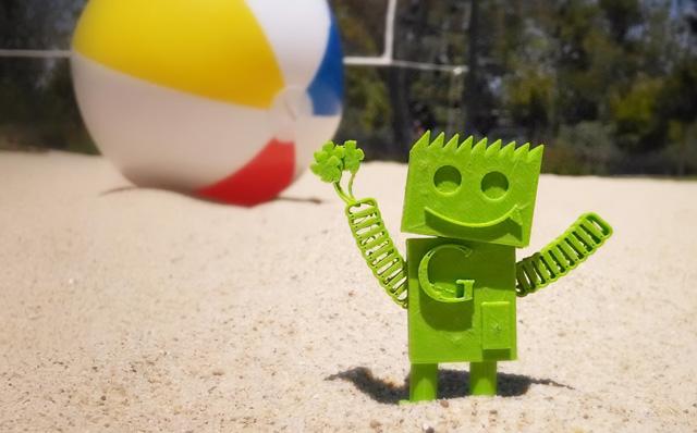 GoogleBot At The Beach