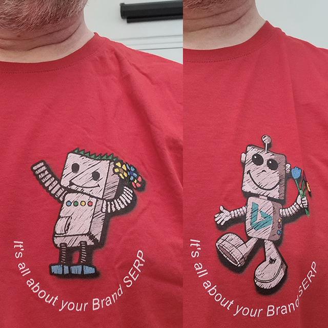 BingBot & GoogleBot Brand SERP Shirts