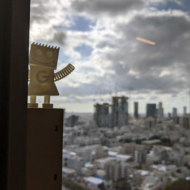 GoogleBot Hits Tel Aviv