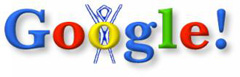 Google Burning Man Logo